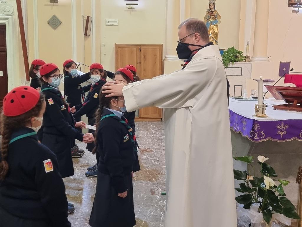 Scout BP Day 2020 Clarissa Letizia fa la sua promessa da coccinella 1_20210228_154622