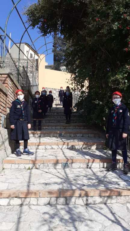 Scout BP Day 2020 Clarissa Letizia fa la sua promessa da coccinella IMG-20210228-WA0013