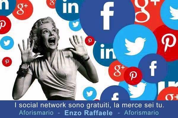 Sui social noi non siamo gli utenti. Siamo la merce.