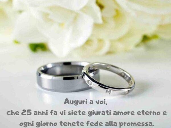 Doppio anniversario per le nozze d'argento famiglie Rizzo e Tindiglia
