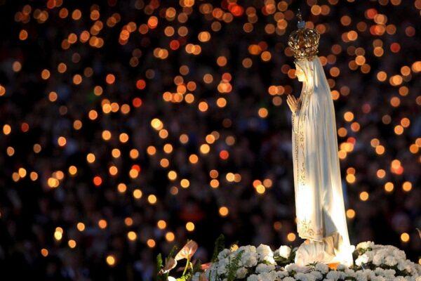 13 maggio. Ore 18,30. S. Messa in onore della Madonna di Fatima