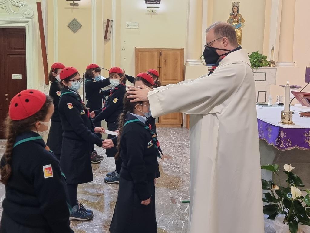 Scout BP Day 2020 Clarissa Letizia fa la sua promessa da coccinella 20210228_154623