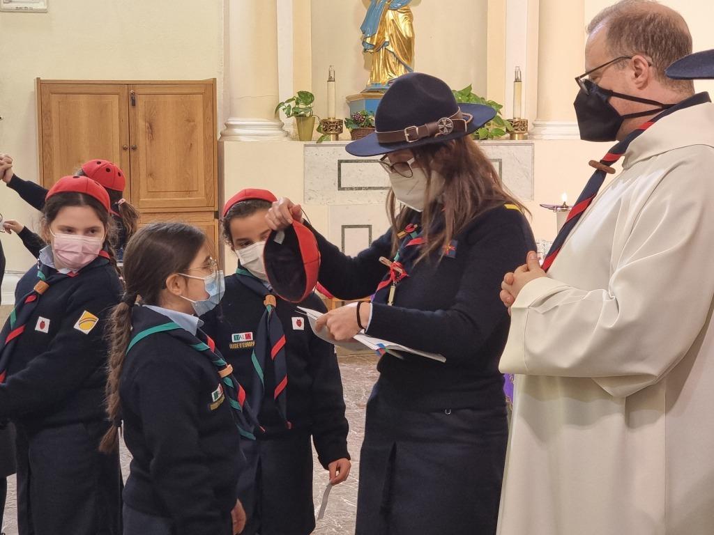 Scout BP Day 2020 Clarissa Letizia fa la sua promessa da coccinella 20210228_154649