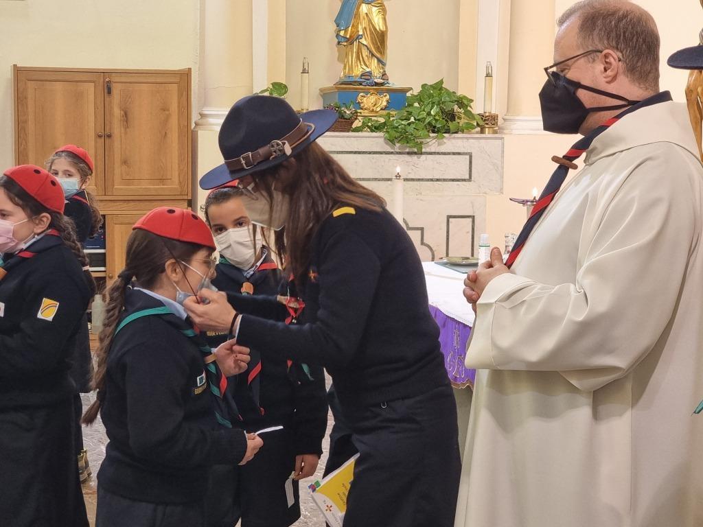 Scout BP Day 2020 Clarissa Letizia fa la sua promessa da coccinella 20210228_154703