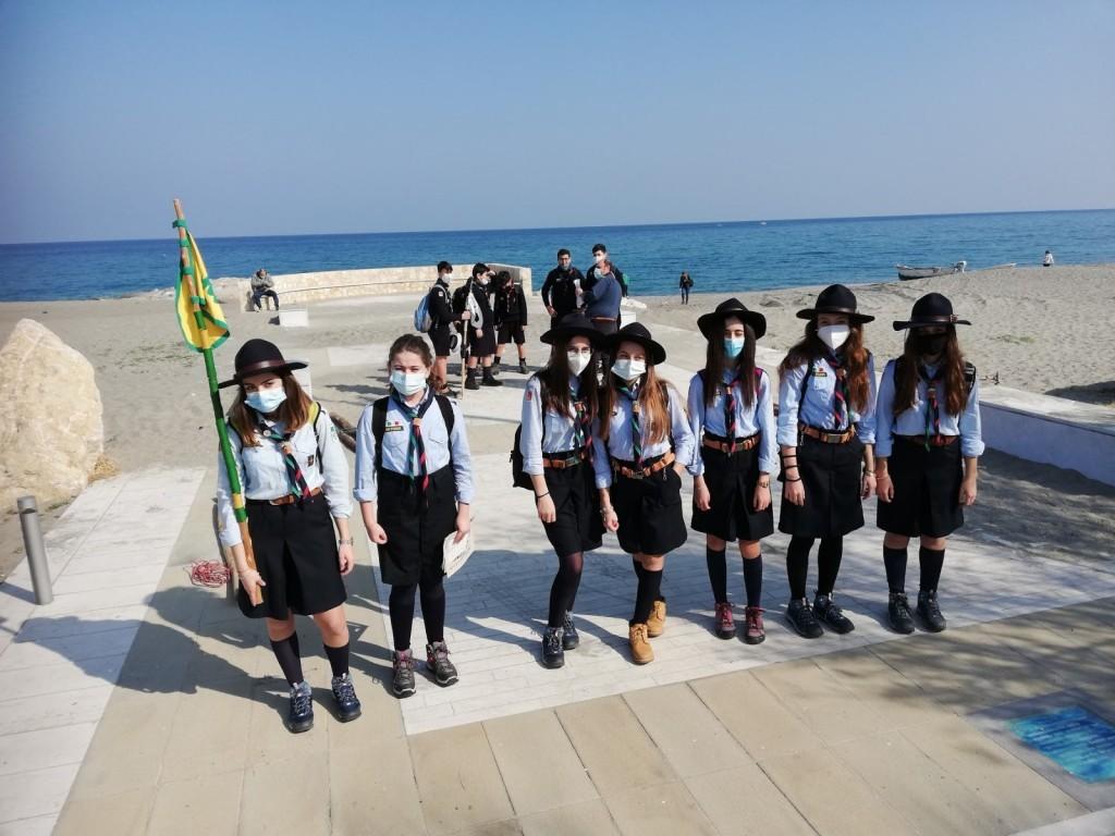 Scout BP Day 2020 Clarissa Letizia fa la sua promessa da coccinella IMG-20210228-WA0023