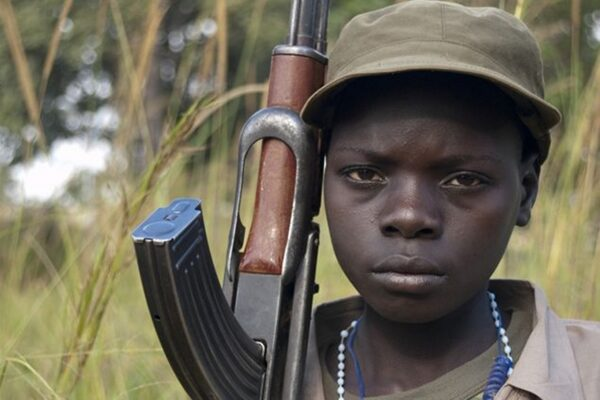12 febbraio. Giornata internazionale contro l'uso dei bambini soldato
