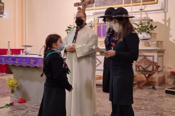 Scout BP Day. Clarissa Letizia fa la sua promessa da Coccinella