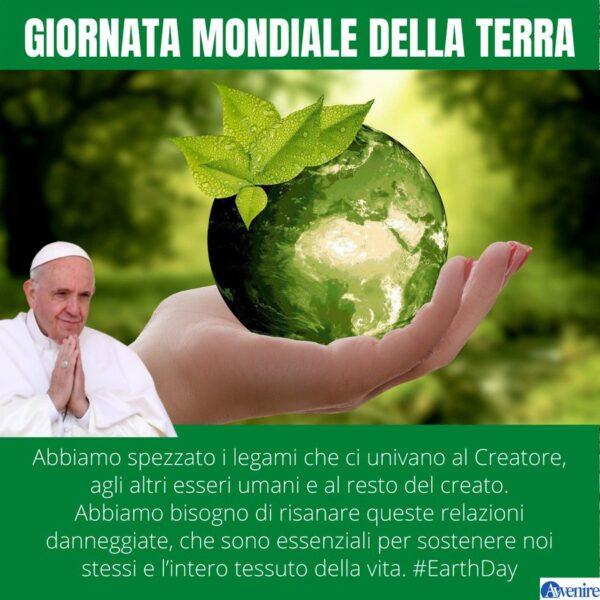 Il Papa sulla Giornata per la Terra